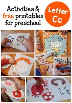 alphabet activities C