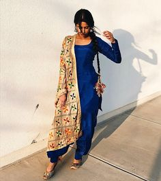 punjabi PunjabiYou can find Designer punjabi suits and more on our website Indian Suits Punjabi, Punjabi Suits Party Wear, Punjabi Salwar Suits, Indian Salwar Kameez, Indian Attire, Indian Wear, Salwar Kameez Simple, Punjabi Dress, Sabyasachi Suits