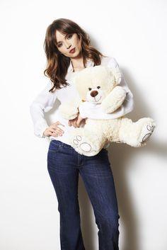 Walentynki z Anią! #valentine's #day #Ania #Przybylska #bear