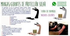 MANGAS DE PROTECCIÓN SOLAR