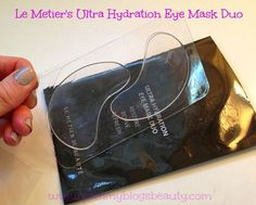 My Puffy and Tired Eyes get a Treat with Le Metier's Ultra Hydration Eye Mask!!! ~ Pammy Blogs Beauty