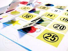 Advent Calendar Countdown to Christmas Instant par CorissaNelsonArt