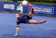 Colin Farrell makes surprise visit to Homeless World Cup – INSP