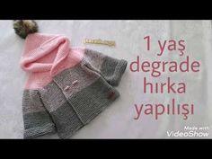 Baby Cardigan Knitting Pattern Free, Baby Boy Knitting Patterns, Knitted Baby Cardigan, Knitting For Kids, Crochet Woman, Knit Crochet, Crochet Videos, Baby Accessories, Sewing Hacks