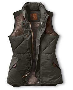Eddie Bauer Women's 1936 Skyliner Model Hunting Vest, Alpine Green Eddie Bauer, Fall Winter Outfits, Winter Wear, Autumn Winter Fashion, Looks Style, Looks Cool, Style Me, Hunting Vest, Women Hunting