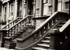City Stoop, Upper West Side, NYC