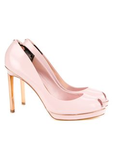 Bow jelly pump - Light Pink | Shoes | Ted Baker - ESCINTA Bow ...