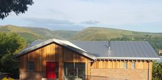 The main living space offers great views across the #Shropshire Hills #architecture #design
