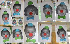 Maak een clowntje van jezelf