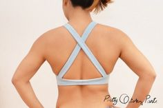 DIY Custom Sports Bra   Make a sports bra that comfortably fits you from this…