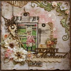 Gabrielle Pollaccohas another stunning layout for us. This kitfeatures some fabulousproducts from around the world (7Dots Studios, Dusty Attic, Blue Fern Studios and more). See product description for details.