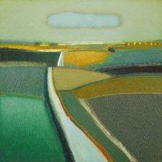 """Saatchi Art Artist Rob van Hoek; Painting, """"Summer always goes so quick"""" #art"""