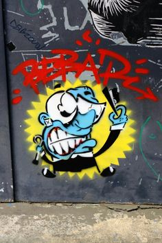 Vitry-sur-Seine - place Jean Martin - street art - bebar