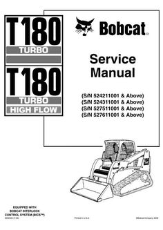 Pin by servicemanualfreedownload909 on Download BOBCAT