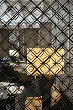 Geometric screen / room divider
