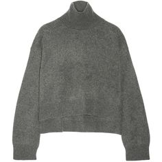 Rejina Pyo Cropped cashmere turtleneck sweater (39.020 RUB) ❤ liked on Polyvore featuring tops, sweaters, cropped sweater, turtle neck shirt, shirt sweater, turtleneck shirt and cropped turtleneck sweater