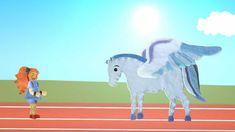 En este capítulo Tina nos mostrará el origen de los Juegos Olimpicos. Daremos un paseo por Grecia montados a lomos de Pegaso, y conoceremos a Zeus, Alejandro...