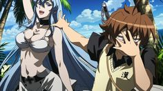WOW SO HOT!!! <3 <3 <3 <3 < akame ga kill, tatsumi and esdeath, tatsumi and esdeath in love