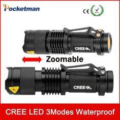 This Light is Insane! New Flashlight Adjustable Focus Zoom LED