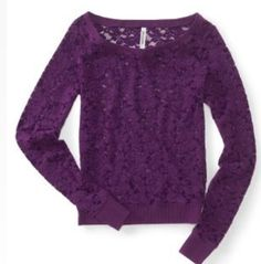 Lace shirt from Aeropostale!