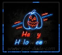 Create a Halloween Neon Sign in Photoshop - Photoshop tutorial | PSDDude