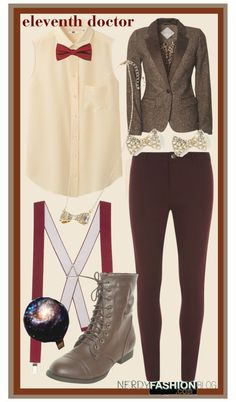 Eleventh Doctor   Doctor Who [Inspired Set] by chelsealauren10   This is an example of a not-incredibly-subtle-but-subtle-enough set that a...