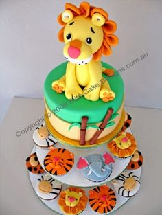 king of the jungle! I LOVE this cake for Davids birthday!! LOVE