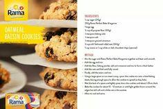 Oats raisin biscuits