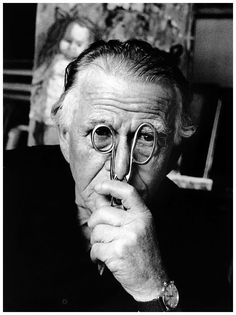 Otto Dix - Photographed by Stefan Moses
