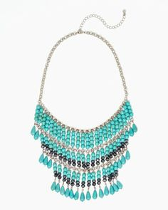 Sofia Statement Necklace #libertygirl #charmingcharlie #ccstyle