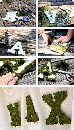 Welcome to my very last party post for a little while! The last thing I want to share with you is how I made the moss coveredletters. well, maybe want isn't the right word. I could chat about my p...