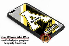 Appalachian State Mountaineers Primary Logos iPhone 6 Plus Case