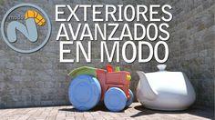 Render de exteriores avanzado con MODO701