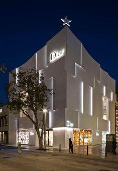 Dior Miami Facade, designed by Barbarito Bancel Architects