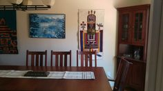 Mission style dining room