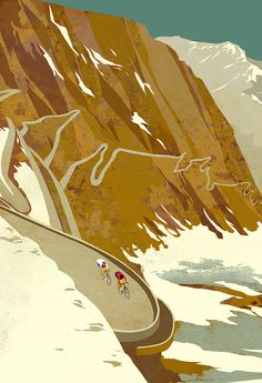 The Cyclist's Bucket List – Eliza Southwood – Illustrator Cycling Art, Cycling News, Cycling Quotes, Cycling Jerseys, Road Cycling, Road Bike, Bike Illustration, Retro Illustrations, Velo Design