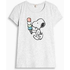 Melange T-shirt with glittery Snoopy print (62 BRL) ❤ liked on Polyvore featuring tops, t-shirts, mixed print top, patterned tops, print tees, pattern tees and print top