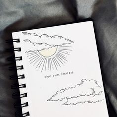 drawing drawings bullet journal quotes sketches sketch doodle simple quote sun clouds easy dance zeichnen beginners draw wolken ballet sonne