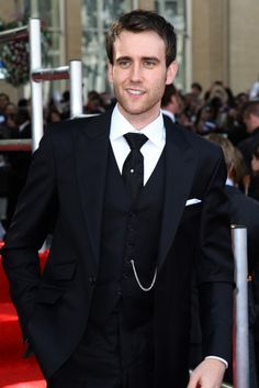 matthew lewis. Oh is he wearing a watch chain!? oh. i think i just died.