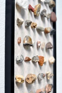 I think this would be a great way to display my shell collection! So much better than them just sitting in a jar.