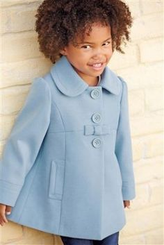 Buy Blue Bow Coat (3mths-6yrs) from the Next UK online shop