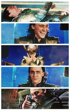 Loki, your Tom is showing.