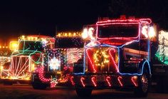 This year's Eureka, Calif., parade will be held Dec. 10. This year's is the 20th anniversary of the annual Christmas truck parade.