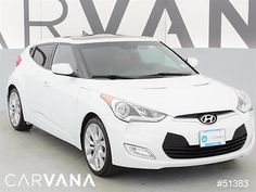 2013 Hyundai Veloster Veloster Base White 2013 Veloster with 61305 Miles for sale at Carvana