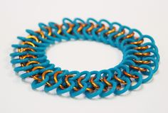 European 4-in-One (E 4-in-1) Chainmaille Weave Bracelet Tutorial