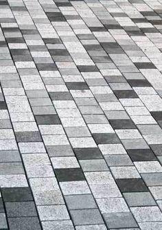 tri tone grey paver pattern - Google Search