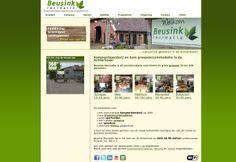 Website voor Beusink groepsaccomodaties kampeerboerderij en camping.  http://www.beusink.nl
