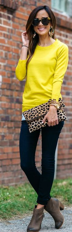 Colorful Fall Outfit Idea by Sequins & Things