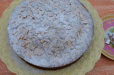 Noz Moscada e Gengibre: Bolo de puré maçã