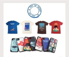 Out of Print Clothing uses amazing vintage book cover designs on iPhone cases, t-shirts, and more.